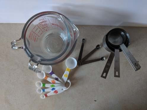 General Measure cups photo